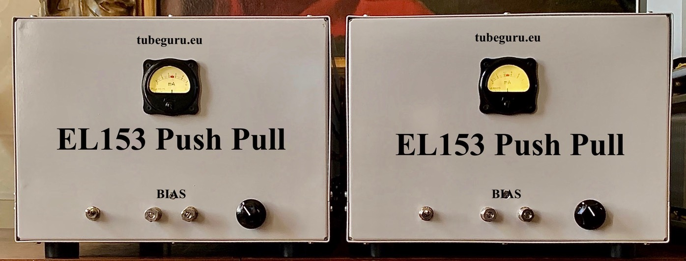 handcrafted Tube Single Ended or Push Pull tube amps